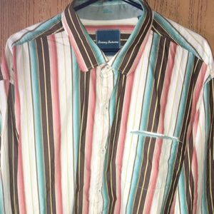 TOMMY BAHAMA LS BUTTON DOWN SHIRT SZ XXL